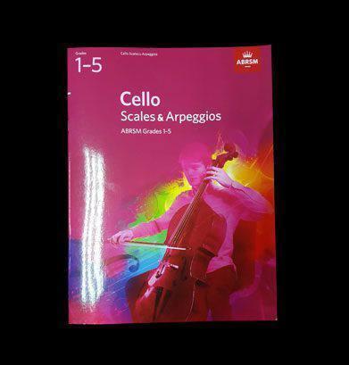 Cello Scales & Arpeggios Image