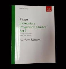 Violin Elementary Progressive Studies Set 1