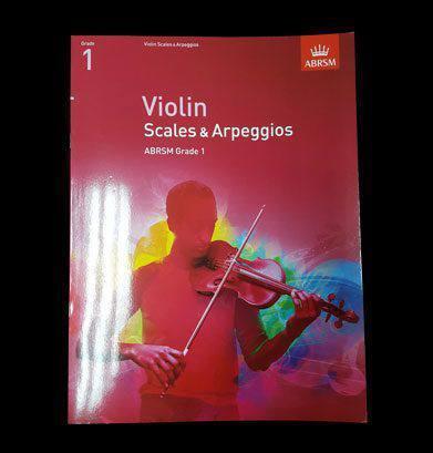 Violin Scales & Arpeggios Image