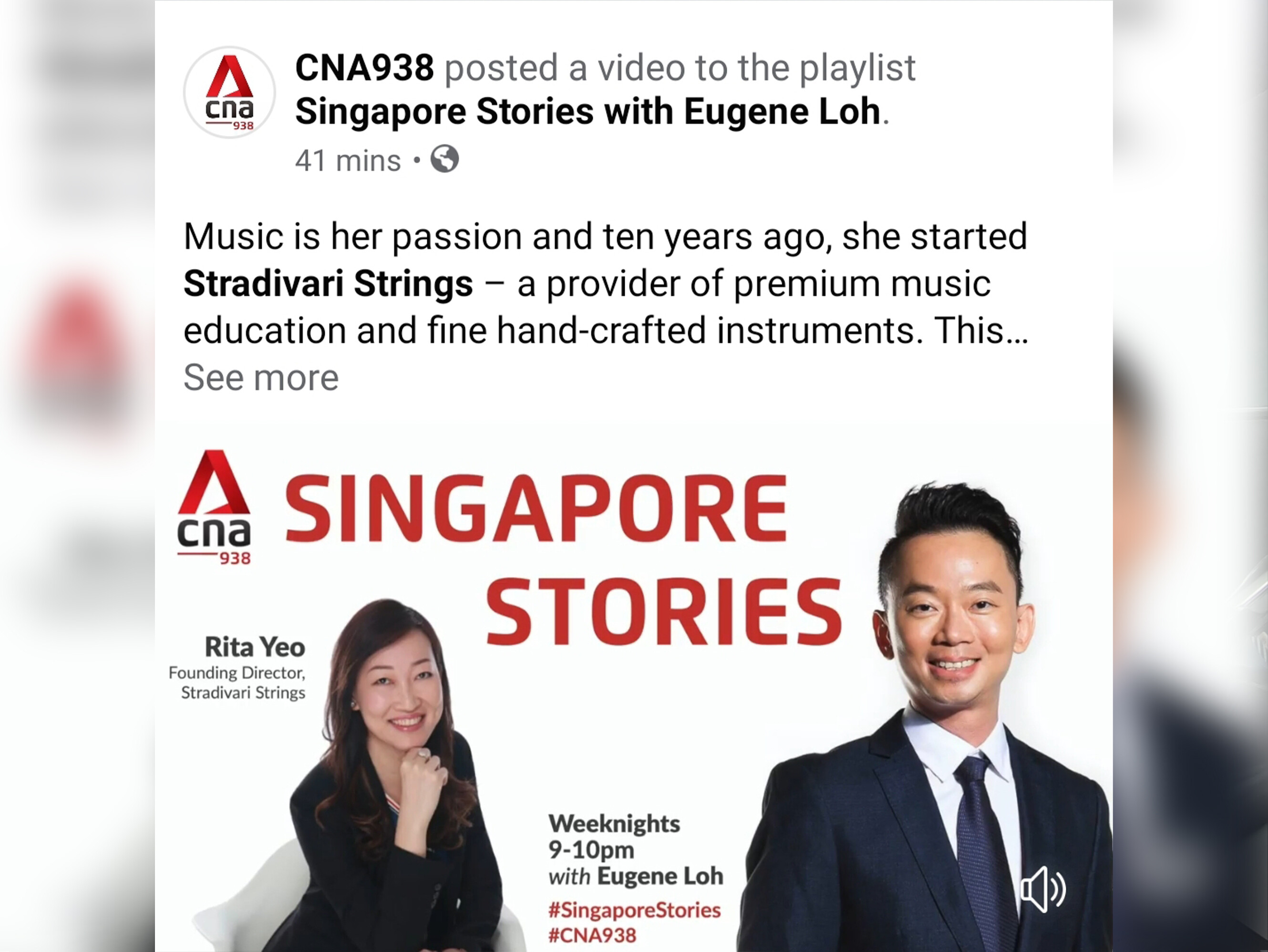 "Interview at CNA 938 radio with Mr Eugene Loh, ""Singapore Stories"" on 26th April 2020"