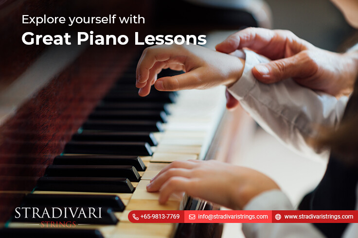 Explore yourself with great piano lessons