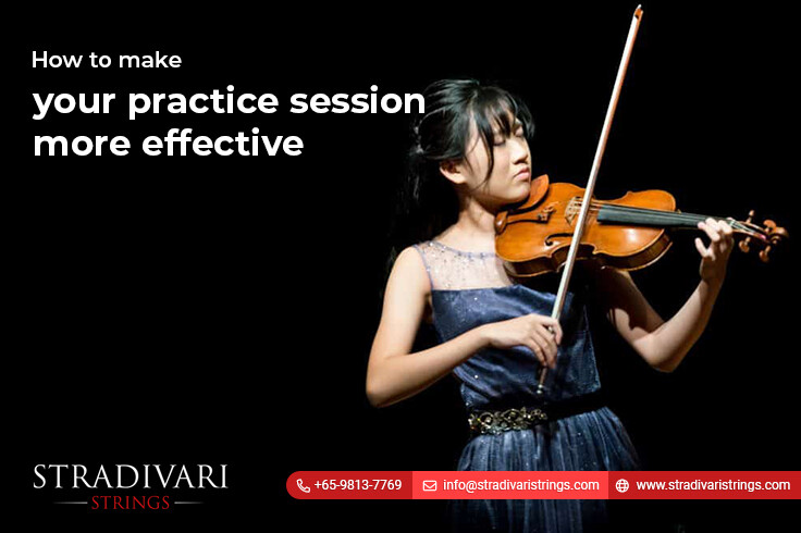 How to make your violin lessons practice session more effective