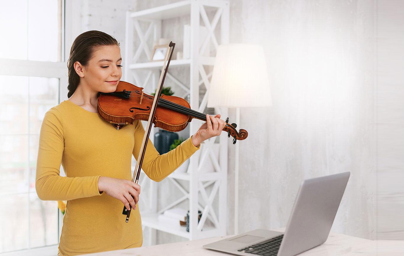 Online Violin Lessons Banner
