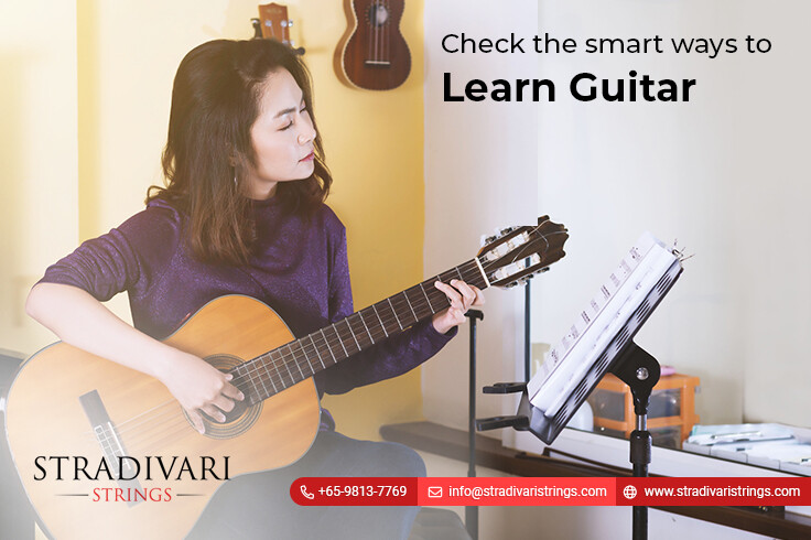 Check the smart ways to learn guitar