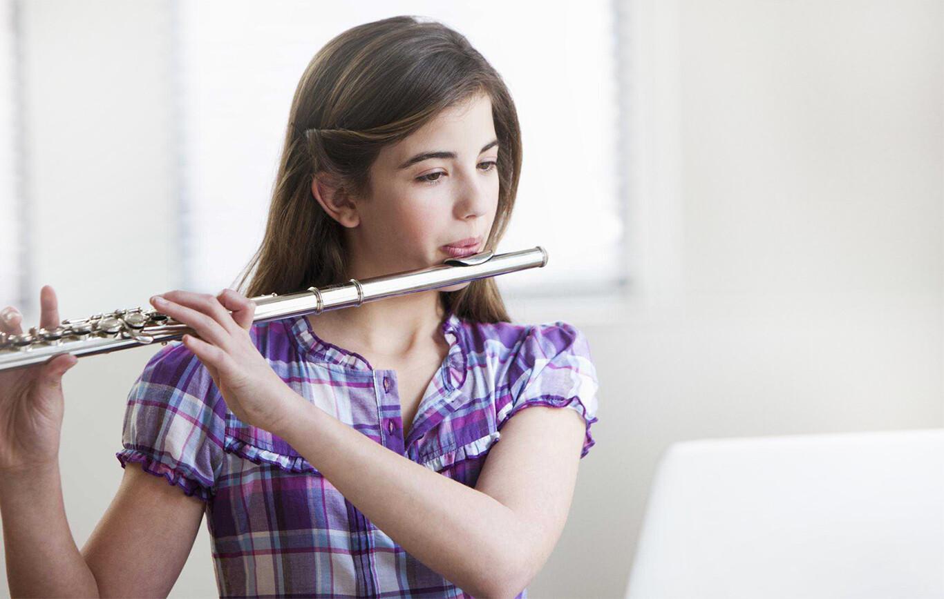 Online Flute lessons Banner