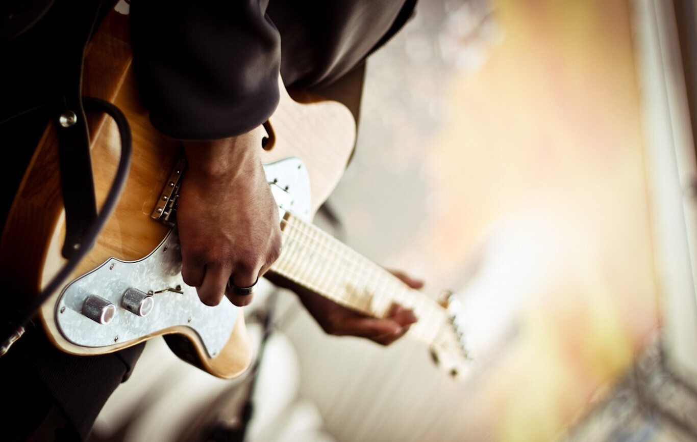 Online Electric Guitar Lessons Banner