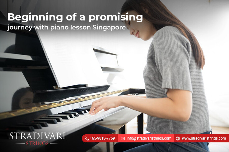 Beginning of a promising journey with piano lessons Singapore