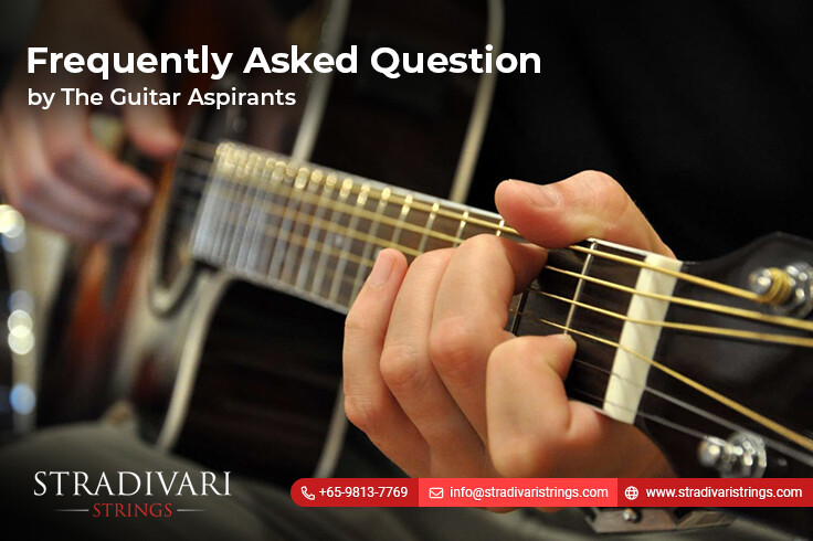 Frequently Asked Question by The Guitar Aspirants – (PART I)
