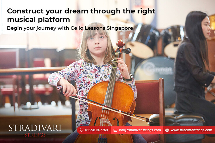 Begin your journey with Cello Lessons Singapore