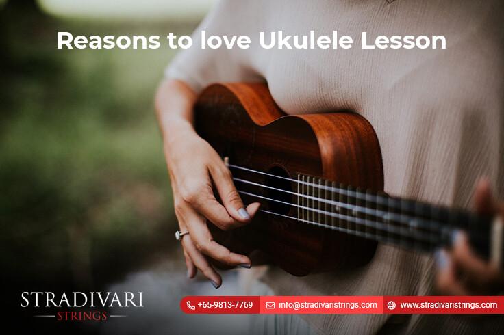Reasons to love ukulele lessons Singapore