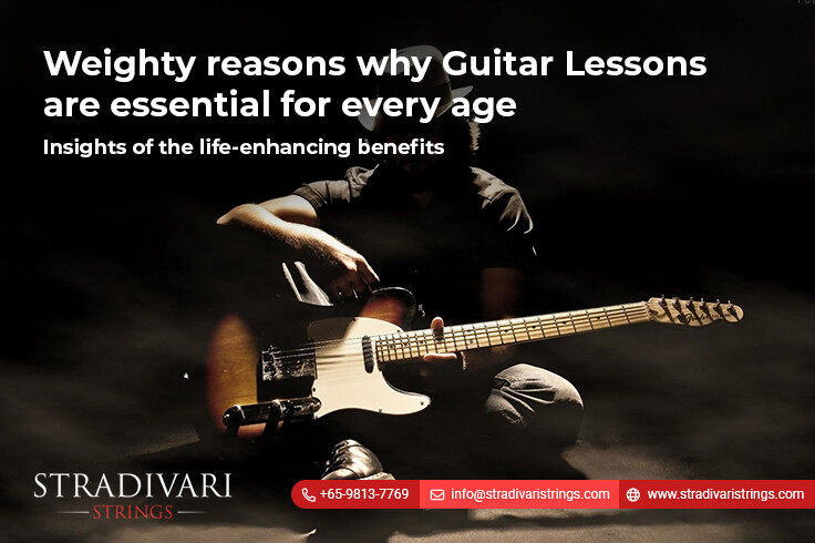 Weighty reasons why guitar lessons are essential for every age