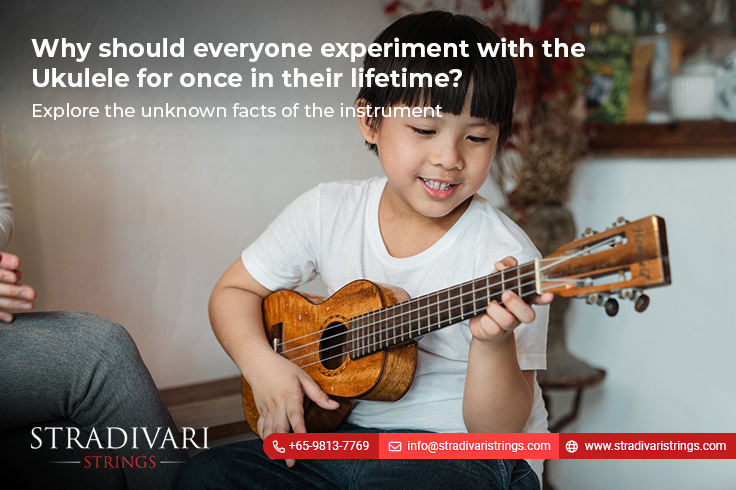 Why should everyone experiment with the ukulele for once in their lifetime?