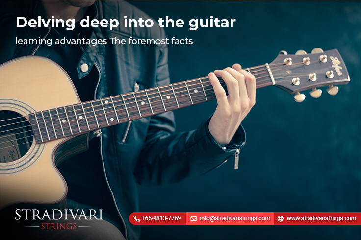 Delving deep into the guitar learning advantages-The foremost facts