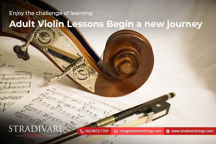 Enjoy the challenge of learning adult violin lessons-Begin a new journey