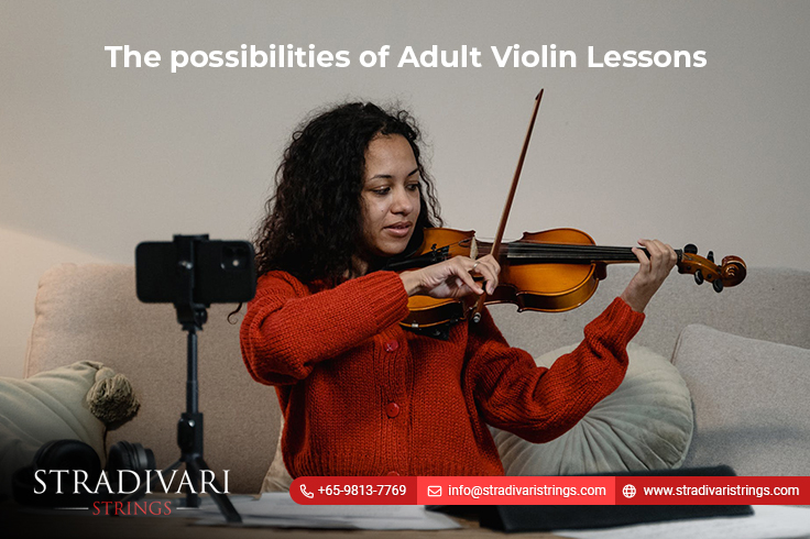 The possibilities of Adult Violin Lessons